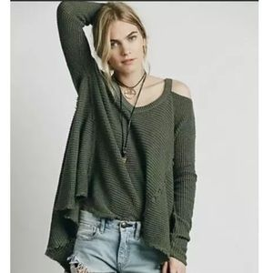 Free people moonshine cold shoulder thermal